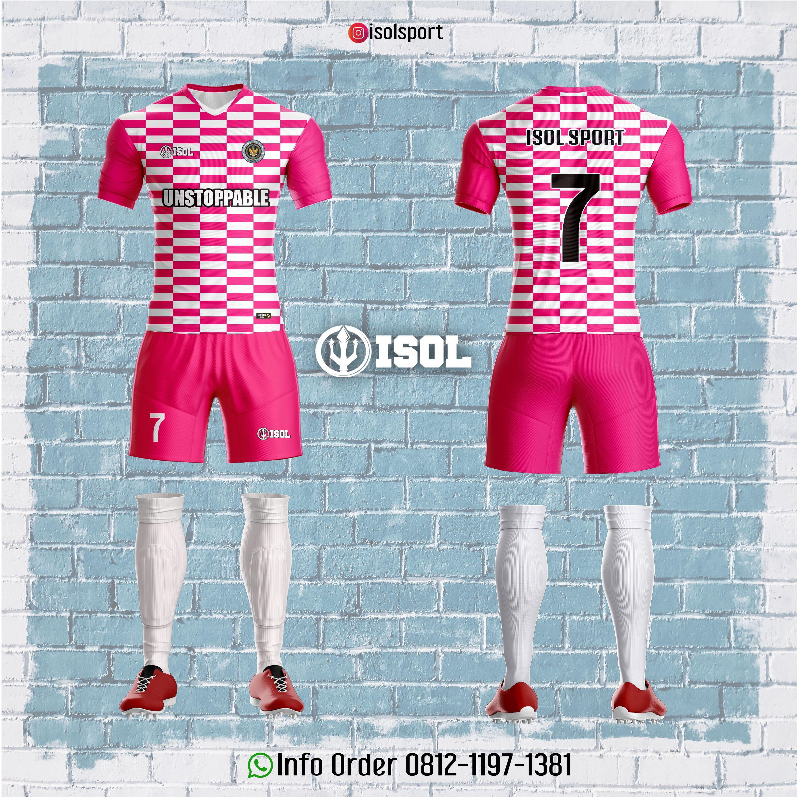 Desain Jersey Keren Warna Pink Isolsport Bikins Fashion Swimwear