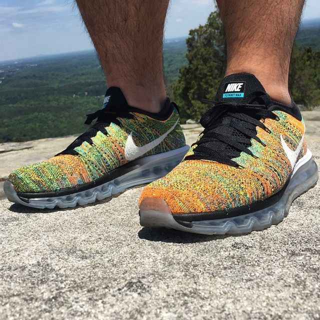 Cankle Mountain. Air Max Multi Flyknits today. #TodaysKicks #SneakerSt #ATLWhaddup #StillAshyNotClassy