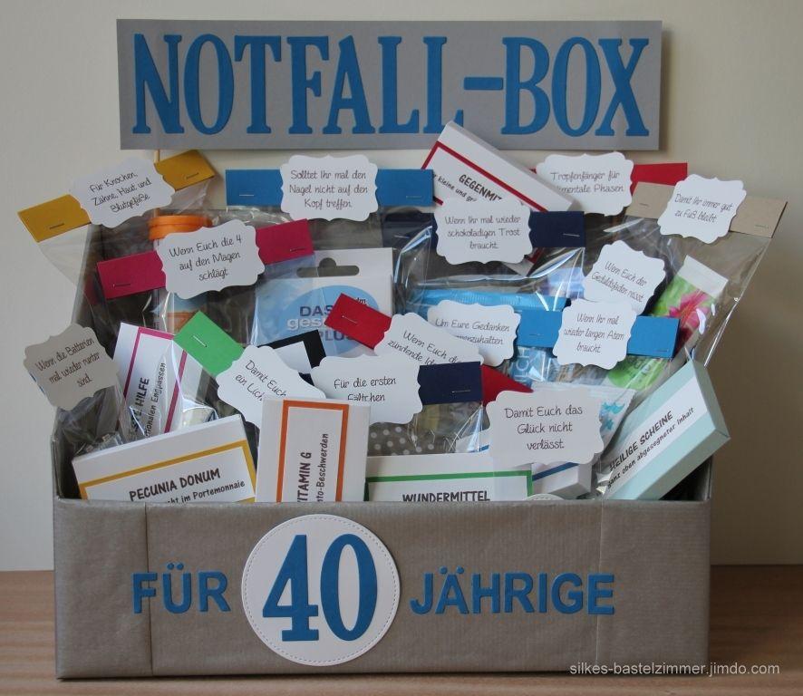 Silkes Bastelzimmer   Geschenke zum 50, Geschenke zum 40