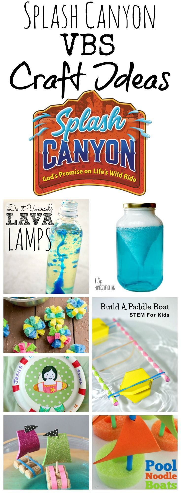 Vacation bible school crafts ideas - Splash Canyon Vbs Craft Ideas