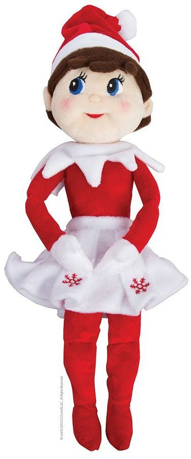 The Elf On The Shelf Plushee Pal Blue Eyed Girl Plush Toy By The