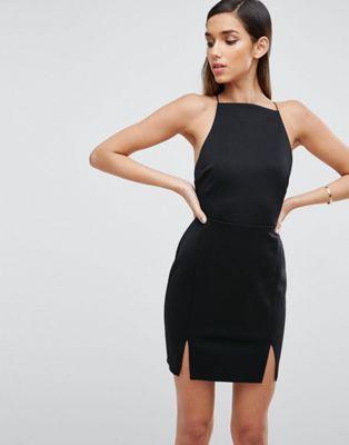 2017 £28 ASOS Double Split Mini Dress   Special Occasion   Pinterest ...