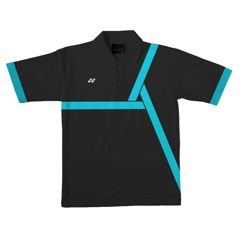 Design t shirt badminton - Sports Kid Polo Shirt Design Yonex Badminton