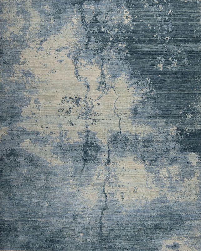 Leonardo - Napoli, Blues - Samad - Hand Made Carpets