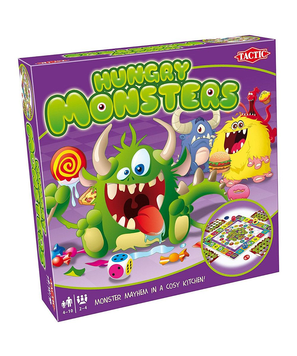 Look at this Hungry Monsters Game on #zulily today!