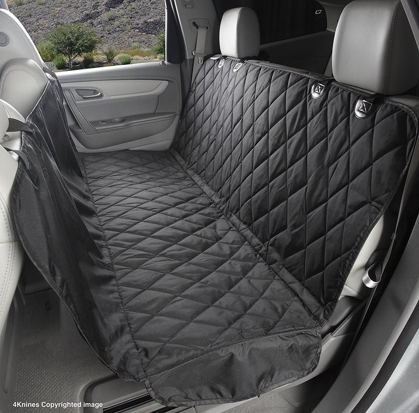 Dog Rear Seat Cover With Hammock In 2021 Dog Seat Covers Dog Seat Dog Car Seat Cover