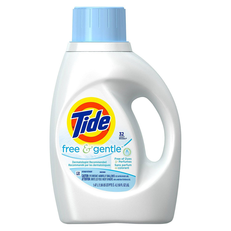 Amazon Com Tide Free Gentle Liquid Laundry Detergent Unscented