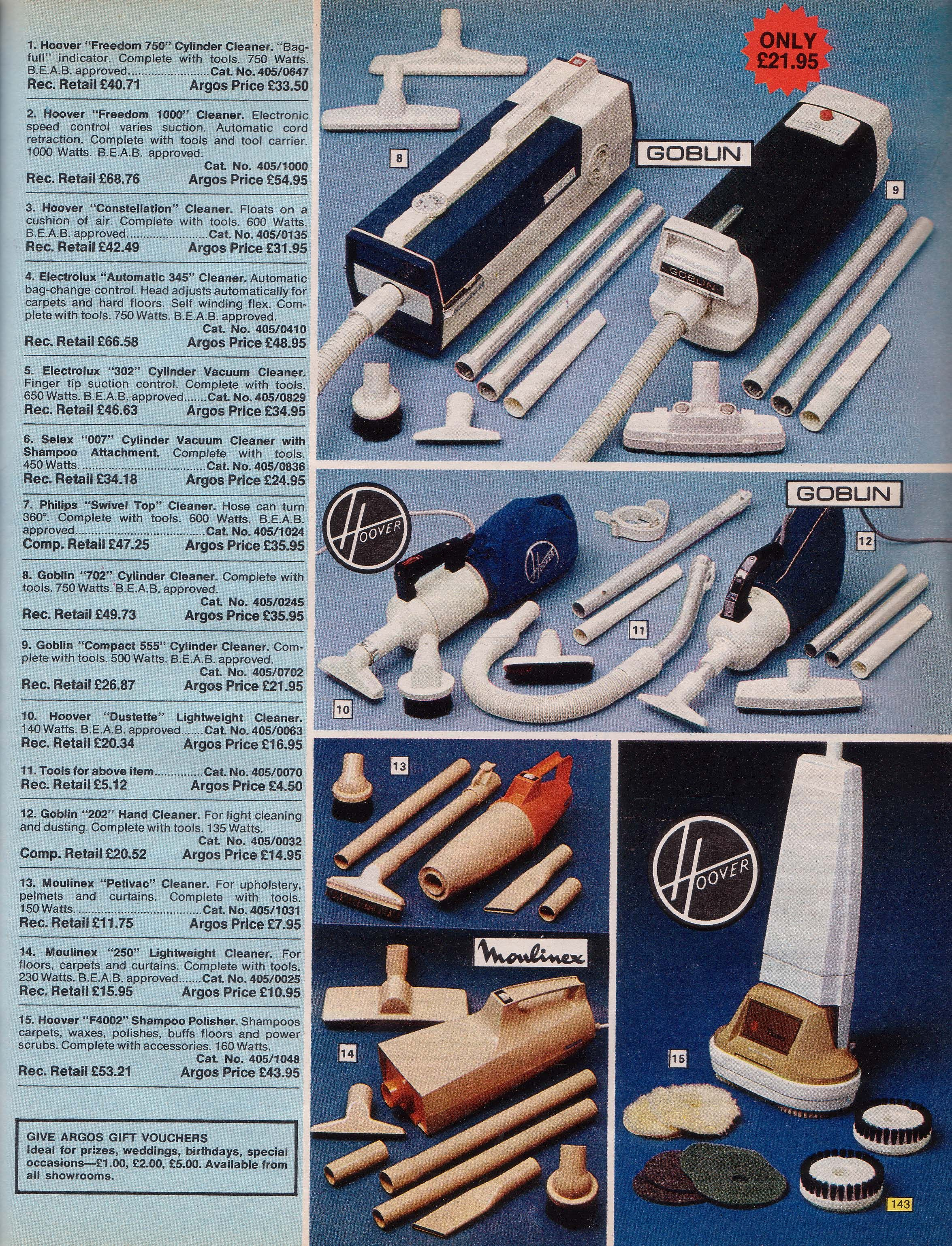 Page 143 | Old Argos catalogue of 1976 | Pinterest