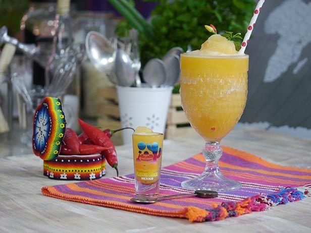 Froozen de Tequila e Tangerina - Food Network