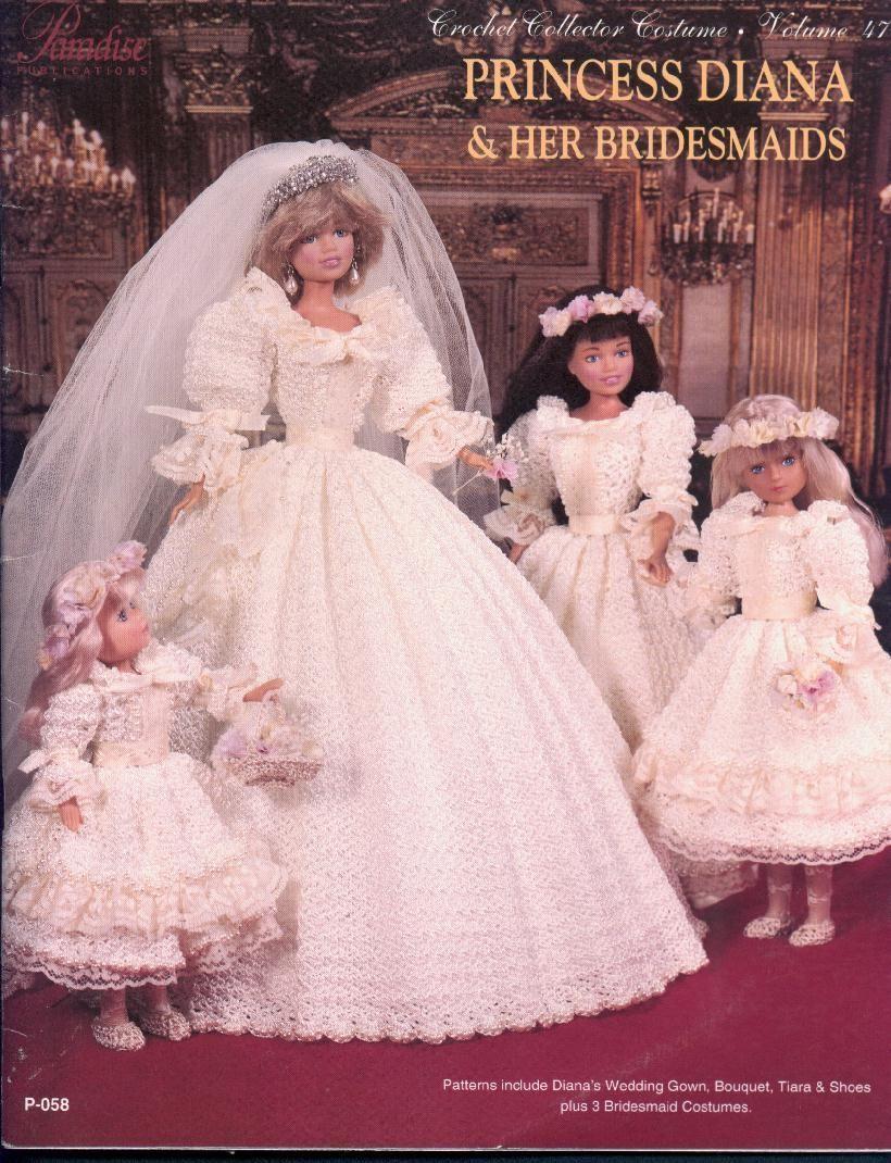 Princess Diana And Her Brides Maids   DOLLS   Pinterest   Barbie ...