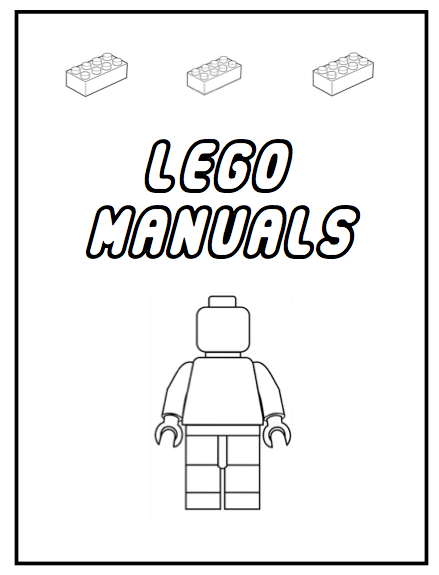 Create a binder for all those Lego manuals you have. Print