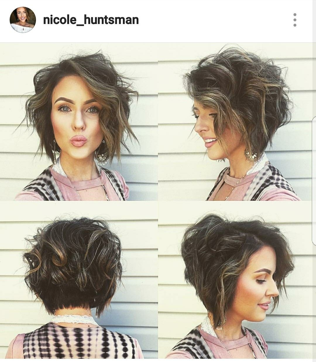 So in love with her hair hair pinterest hair style short