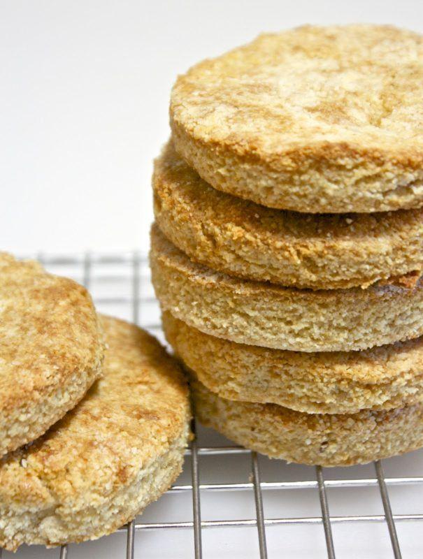 Almond Flour Biscuits [Vegan, Gluten-Free]