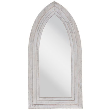 White Cathedral Wood Wall Mirror Hobby Lobby 1664440 Wood Wall Mirror Mirror Wall Wall Mirror Online