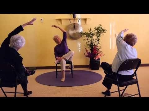 chair holy yoga 35 min standing/15 min sitting  youtube