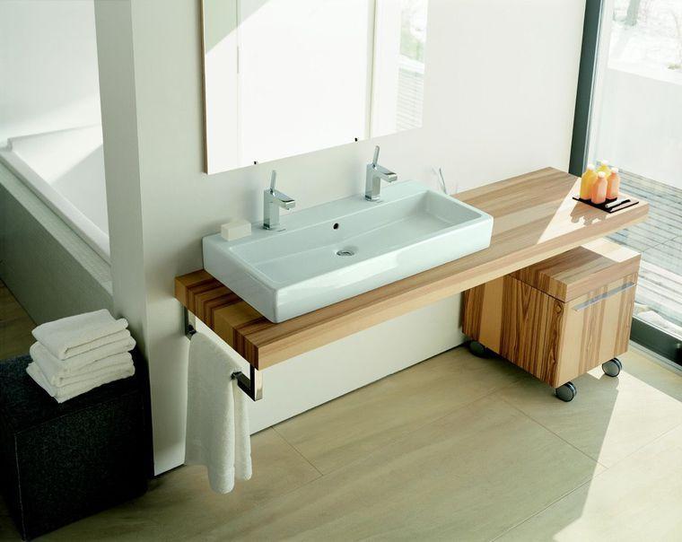 Meuble Salle Bain Bois Design Ikea Lapeyre Avec Images Meuble Vasque Meuble Sous Vasque