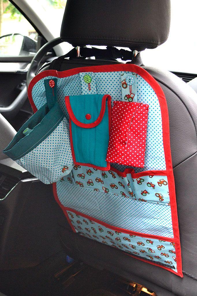 Op Reis Auto Opbergzak Bij Boef Mop Opbergzak Auto Speelgoed Naaien