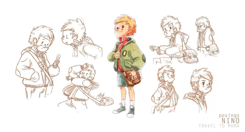Cedric's little adventures   TRAVEL TO MAMA