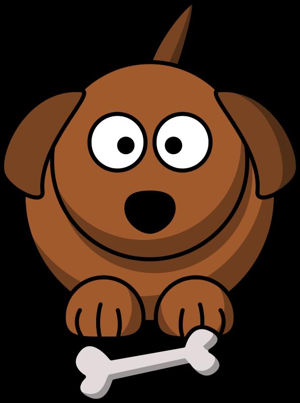 Dog brown. Cartoon by lemmling animal