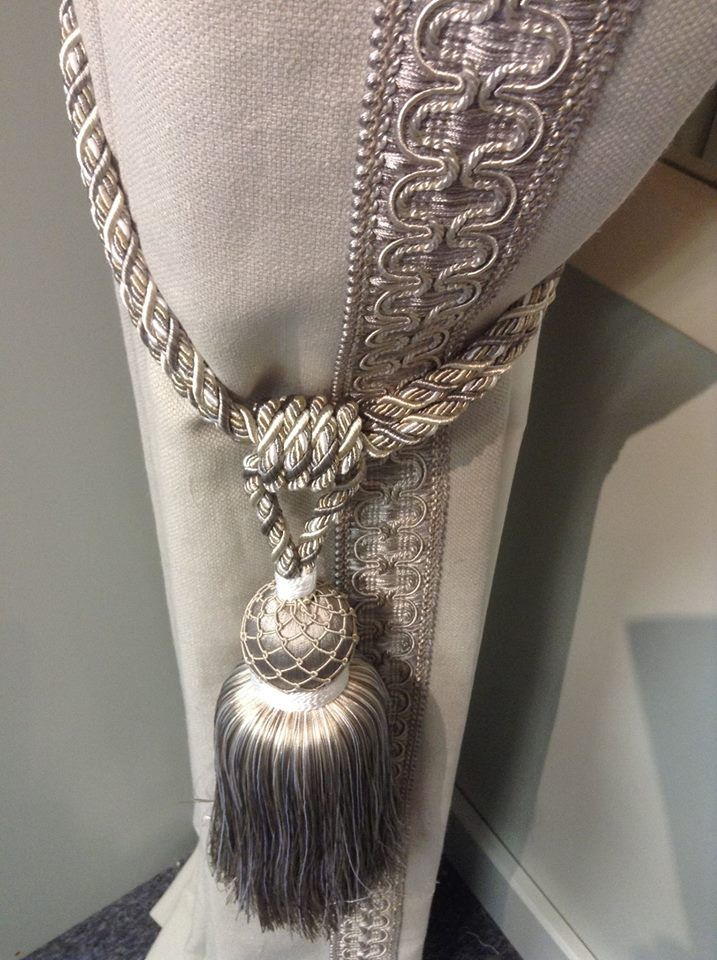 From Our Natural Range Soft Grey With Our New Wide Braid