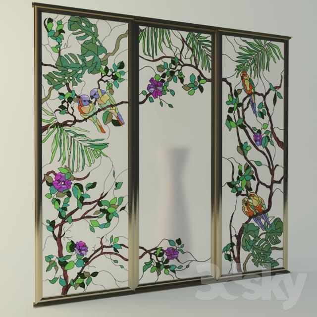 The Stained Glass Windows For Doors Coupe 3d Doors Pinterest