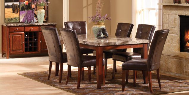 Beau $848 Or $940 For Counter Height   Furniture Row   Great Reviews!!!! Oak  Express: Montibello Dining Group : D5 SLMTDH