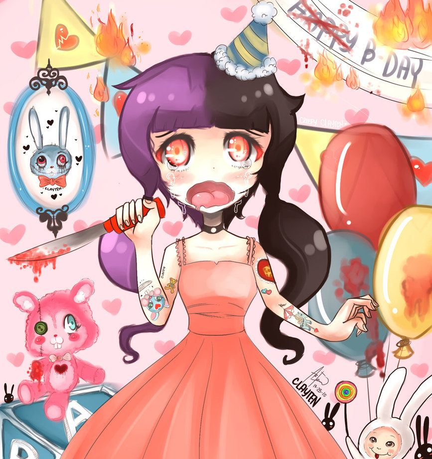 Pity Party Melanie Martinez Fan Art By Creepyclayten On Deviantart