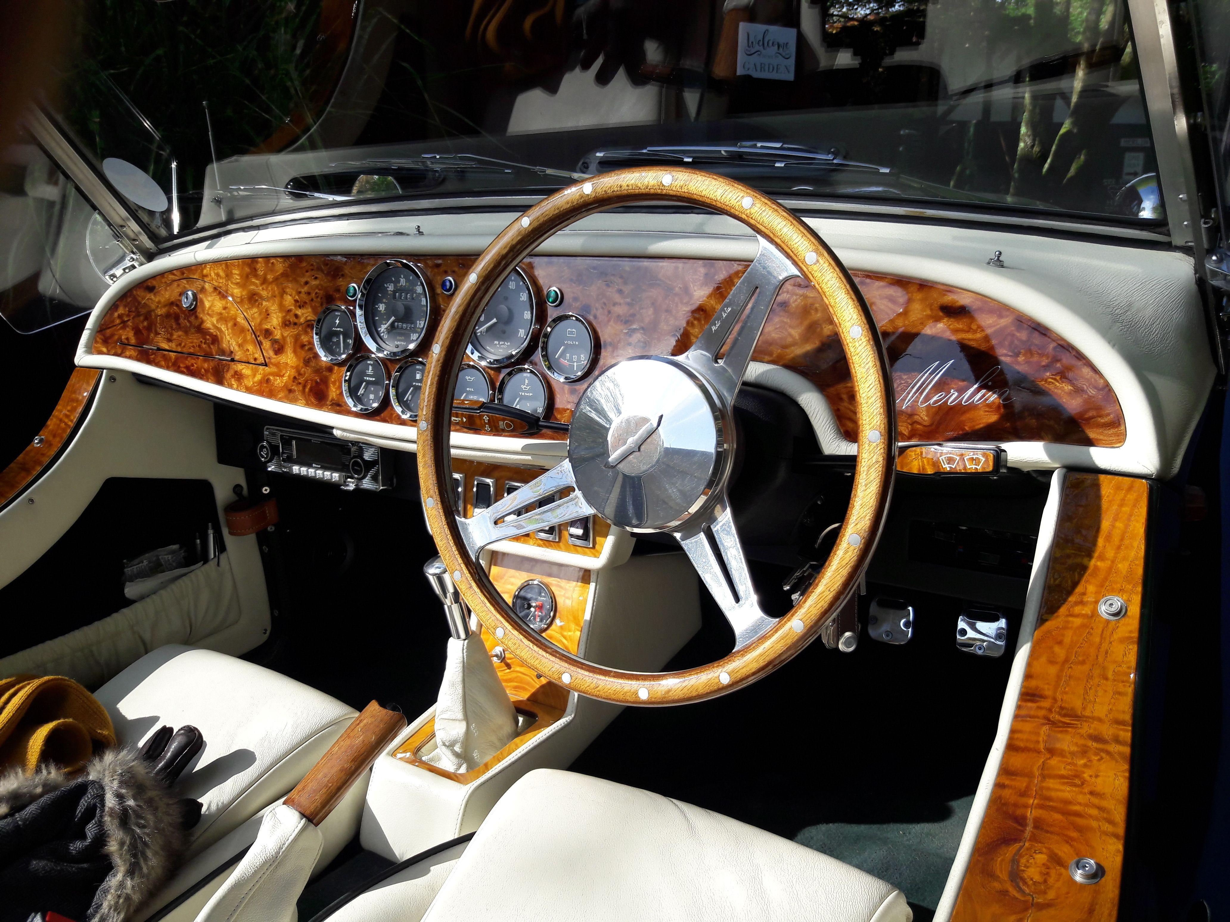 Merlin+2 Roadster Interieur