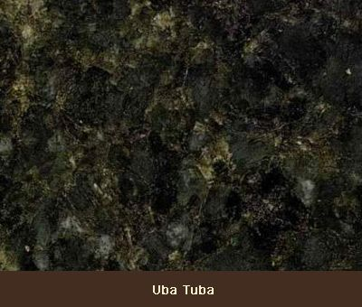 Uba Tuba Granite That Reads Like A Black Or Dark Grey Grey