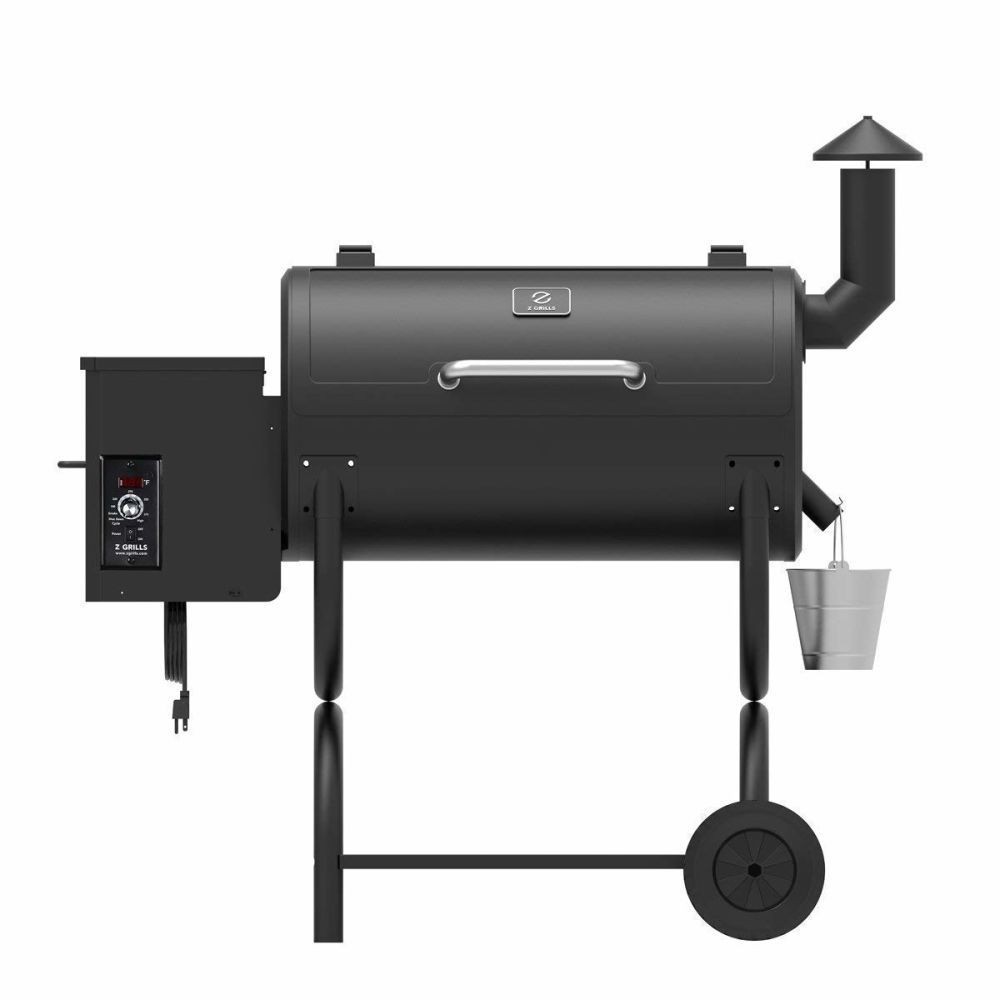 Spring Promotion Only 299 Zgrills Wood Pellet Grill Smoker Outdoor Bbq Grills And Smoker 550 Square Inches Black 1 Piece Box In 2020 Wood Pellet Grills Outdoor Bbq Grill Outdoor Bbq