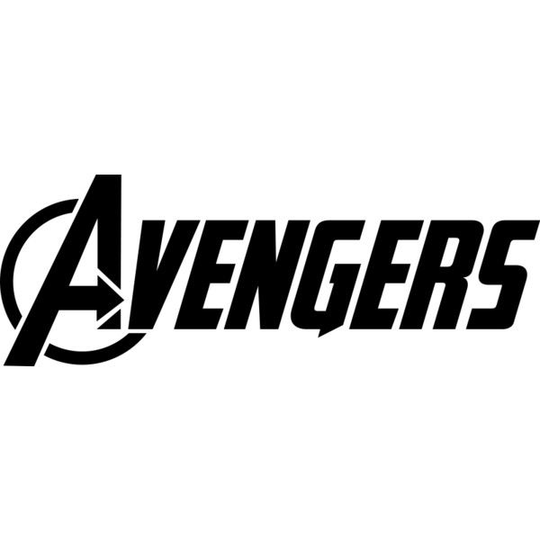 File Marvel S The Avengers Logo Svg Liked On Polyvore Featuring