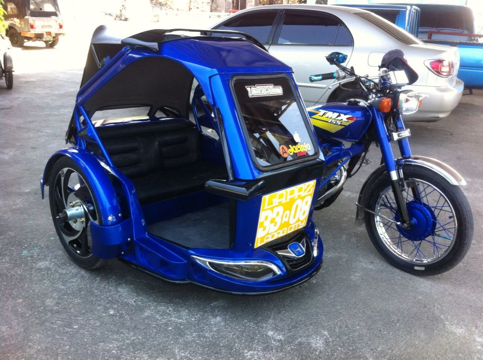 Tricycle of Laoag City Philippines... Tricycle, Sidecar