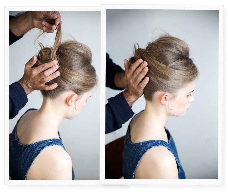 How To Do A 50 S Style Bun Stylekiu 50s Fashion Wedding Hairstyles Style