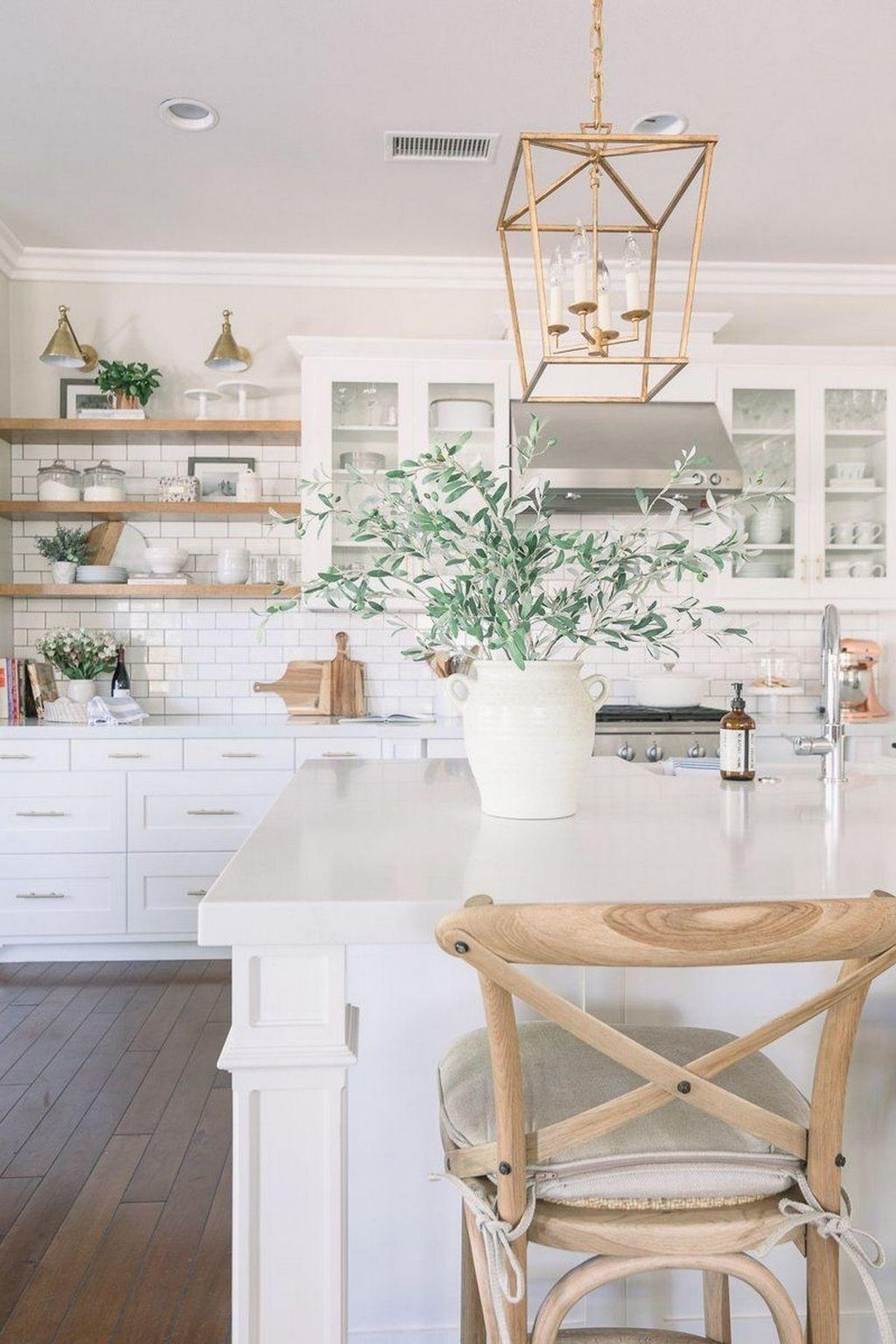 40 Blanc Extraordinaires Idees Cuisine De 20 Blanc Cuisine Extraordinaires Idees Farmhouse Kitchen Design Interior Design Kitchen Home Decor Kitchen
