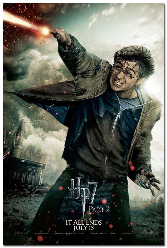 524 Harry Potter And The Deathly Hallows Movie Art Silk Poster