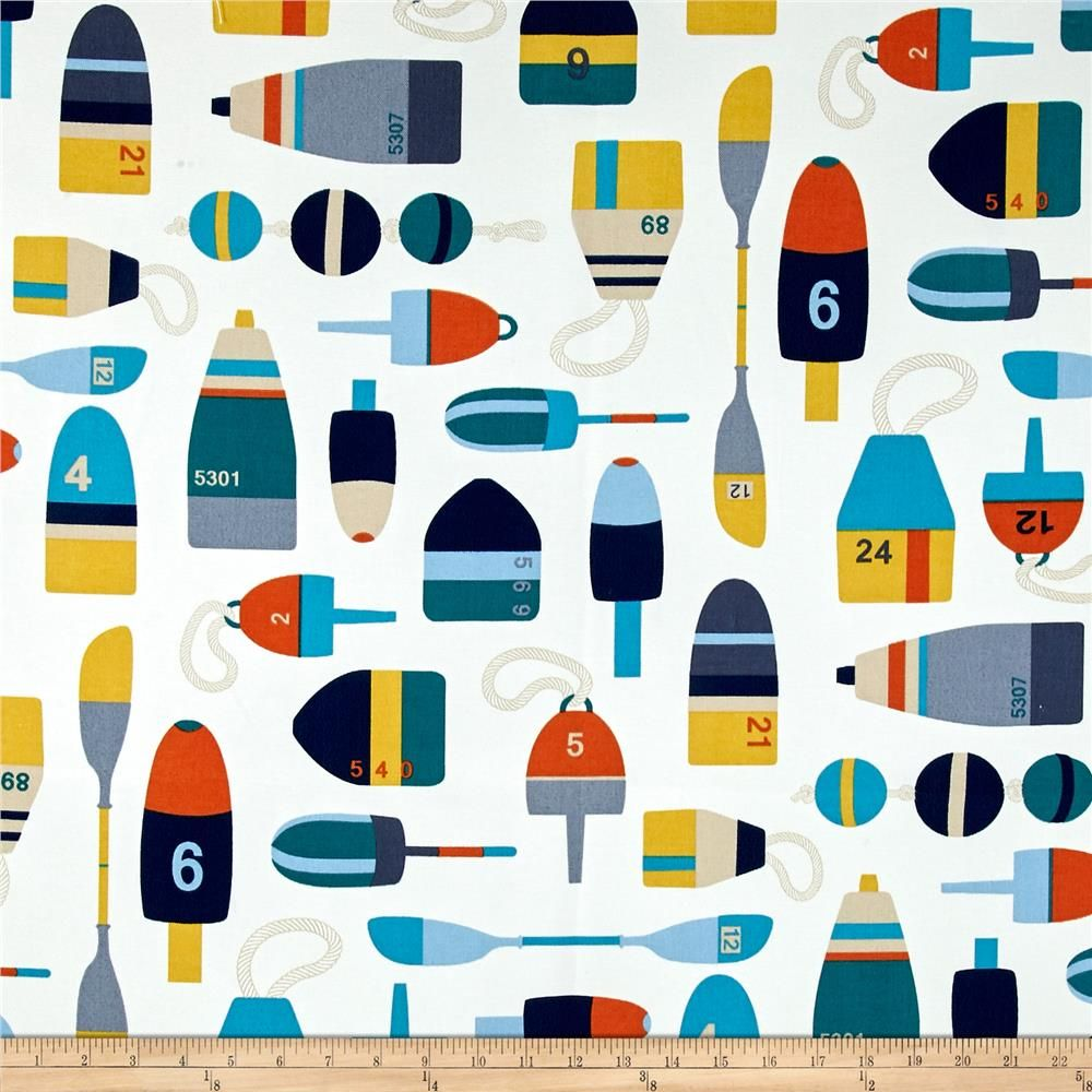 Richloom Solarium Outdoor Shipwreck Ocean Fabric Decor Home
