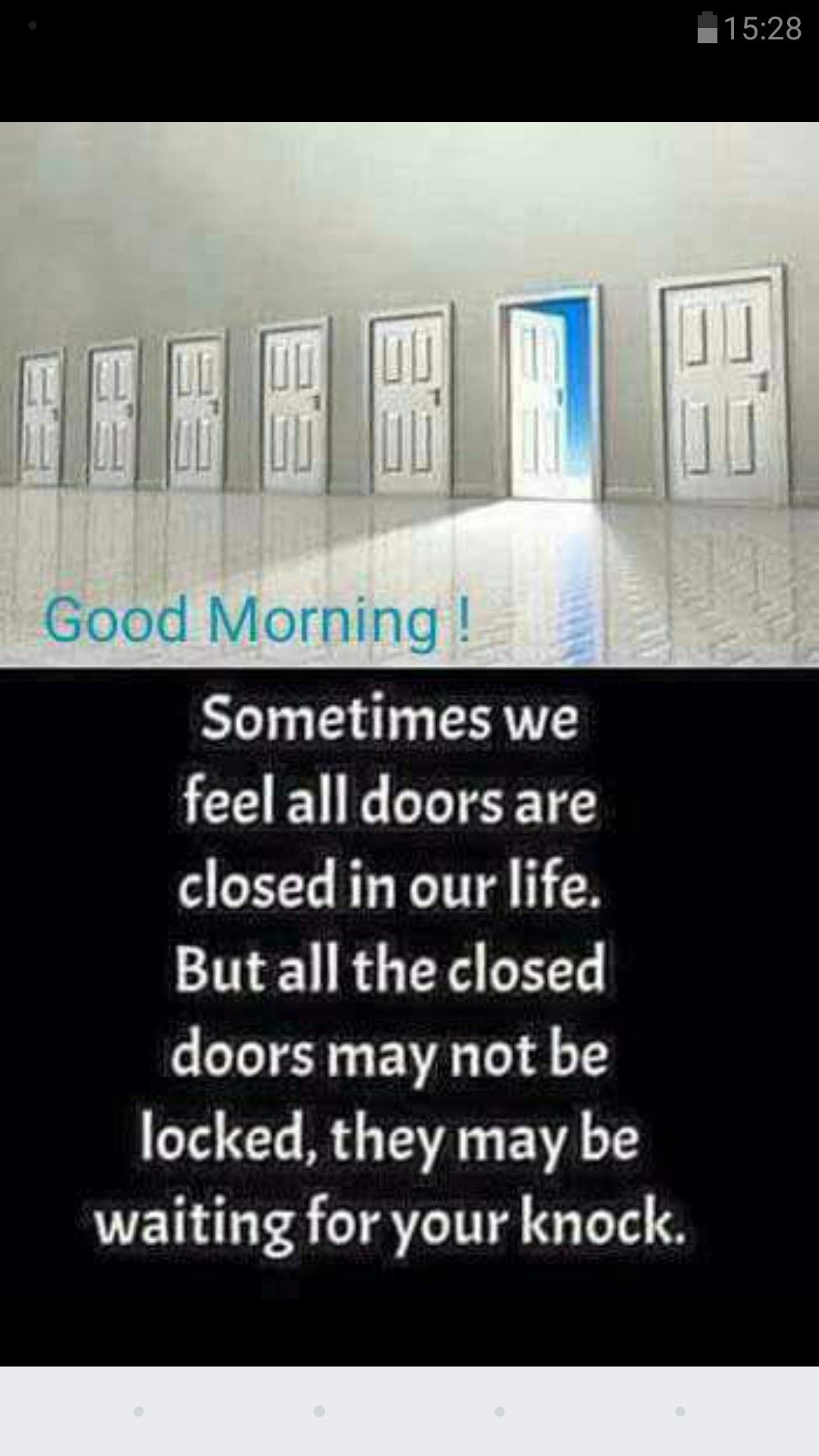 Closed Doors Morning Quotes Funny Morning Quotes Happy Morning Quotes