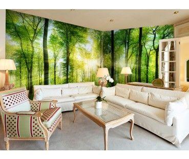 Carta da parati paesaggio decorazioni murali con natura
