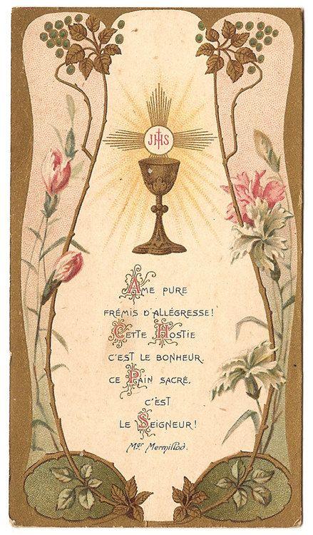 Antique Vintage Art Nouveau Goldprint French by 12StarsVintage