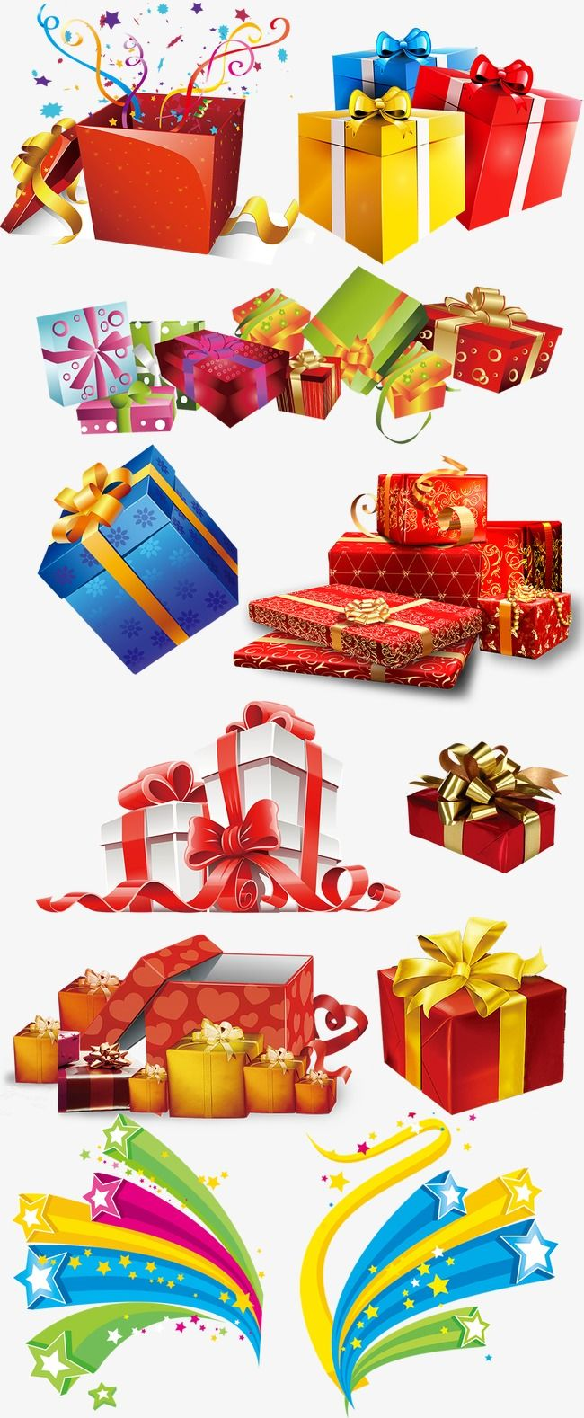 Colored Colorful Gift Gift Collection Colorful Gifts Gifts Gift Collections