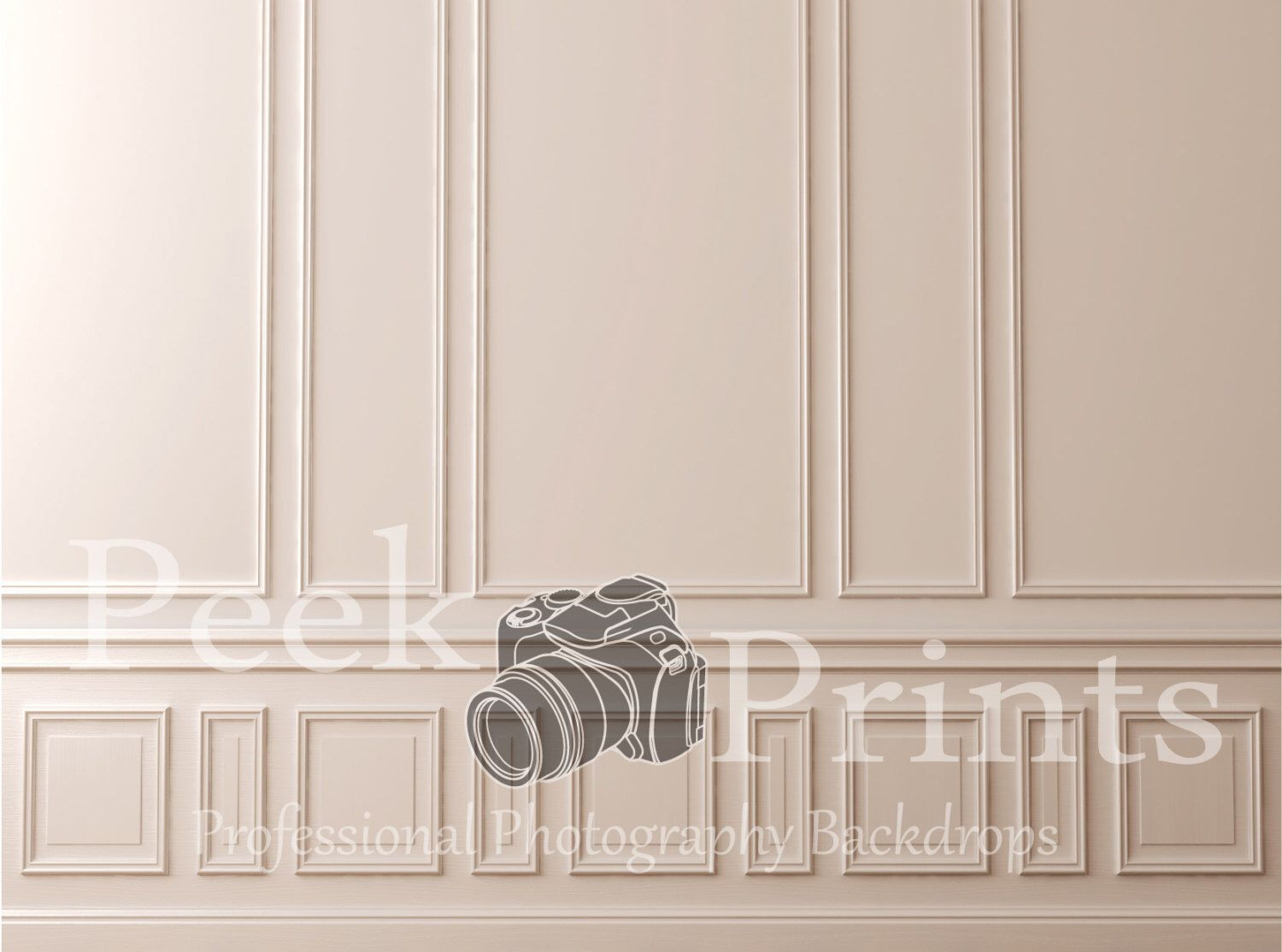 Chair Rail Vinyl Part - 47: Wainscotting - Chair Rail Wood Decorated Wall Vinyl Photography Backdrop By  PeekPrints