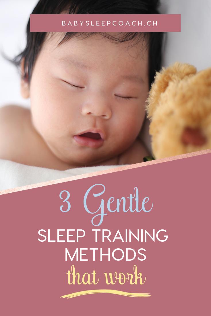 3 Gentle Sleep Training Methods That Work