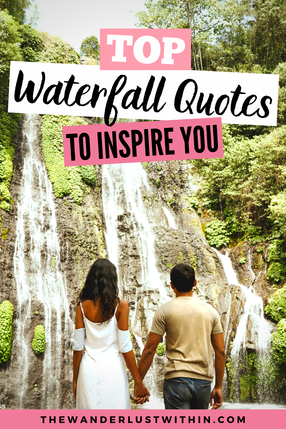 80 Best Waterfall Quotes For 2020 The Wanderlust Within In 2020 Waterfall Quotes Funny Travel Quotes Travel Quotes Adventure