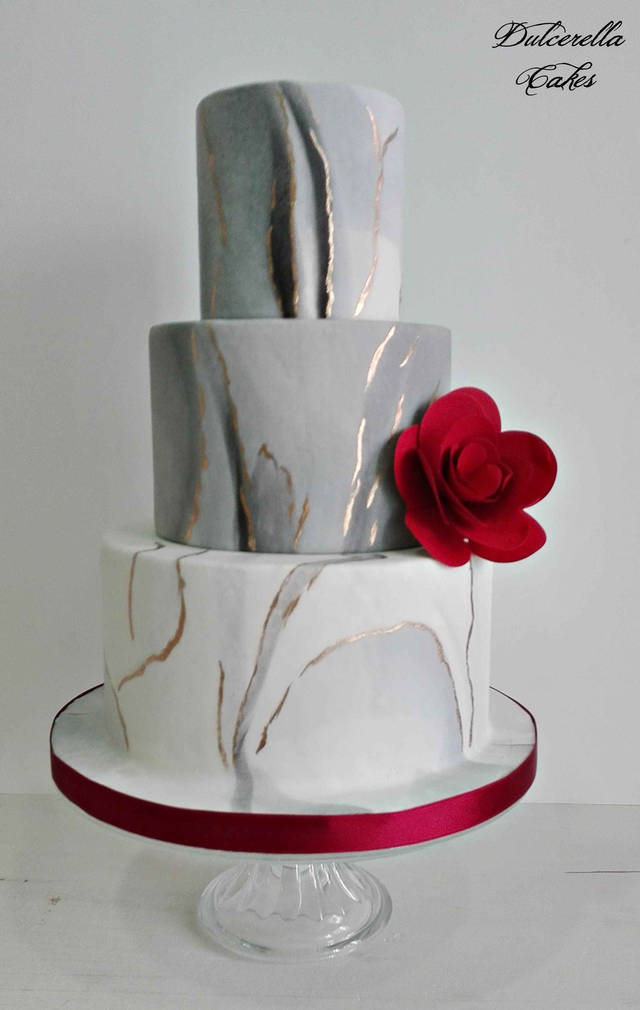 Grey red marble wedding cake for all your cake decorating grey red marble wedding cake for all your cake decorating supplies please visit junglespirit Images