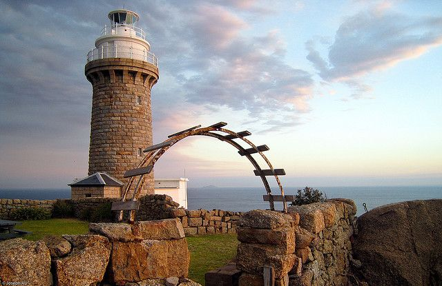Aussie lighthouse - Wilson's Promontory , Victoria, AUS - by Joseph Au,