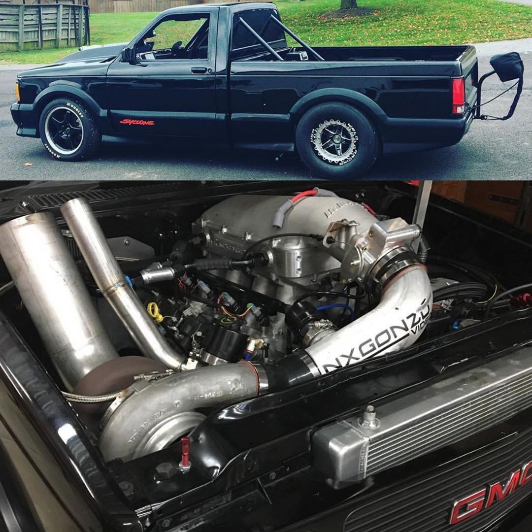 This Gmc Syclone Is A Monster Lsx Fans Owned By