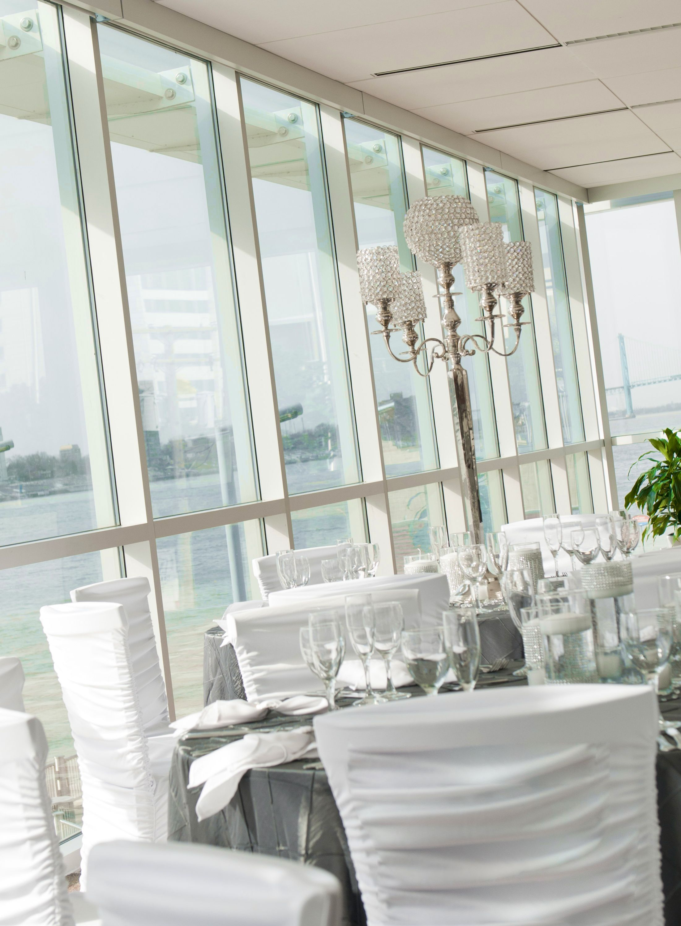 One of Detroit's newest + toprated wedding venues