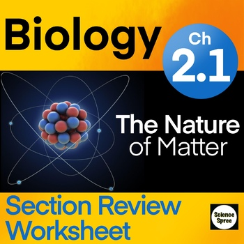 Ch 2 1 Chemistry Of Life Guided Reading Ws Miller Levine 2019 Biology Biology Guided Reading Reading Quizzes
