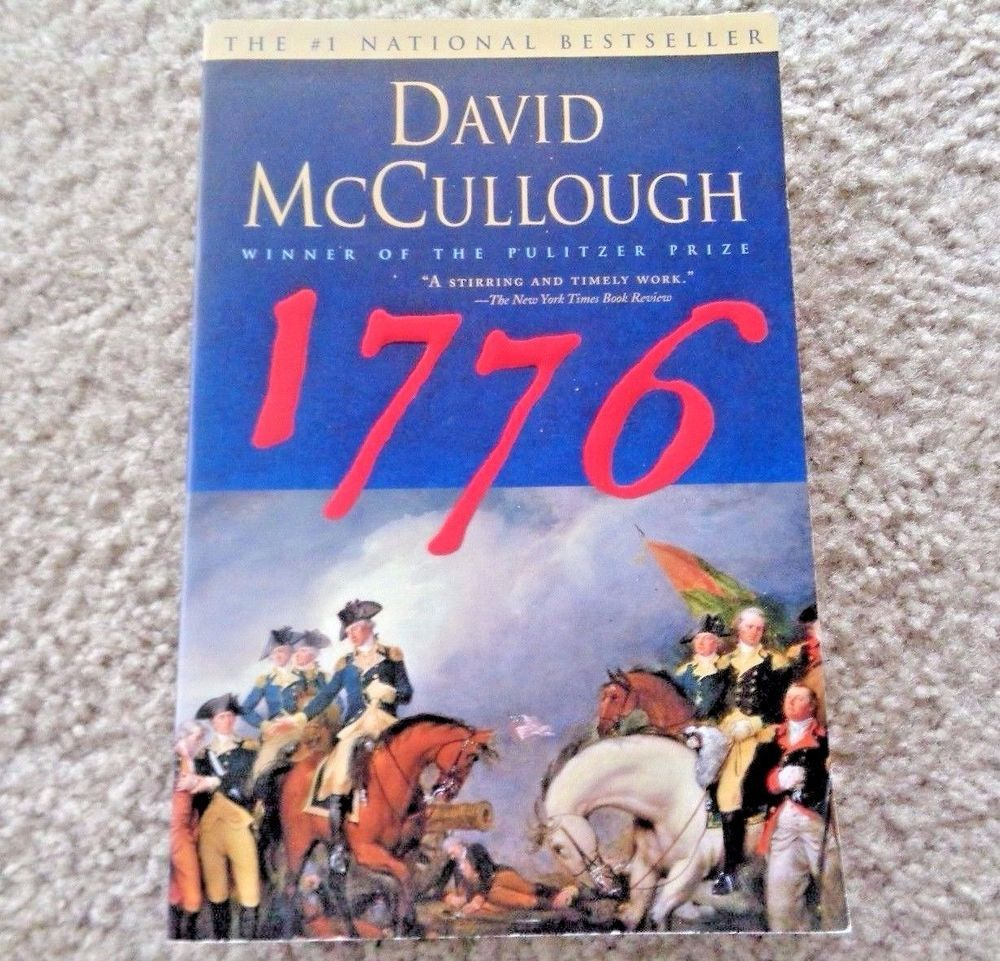 1776 david mccullough thesis 1776 b ook s ummary ( f ahmida y asmin) what is david mccullough's central thesis (150 words - 10 points) mccullough's book is pure, traditional narrative history he said more about the action and experience of the great leaders in his thesis.