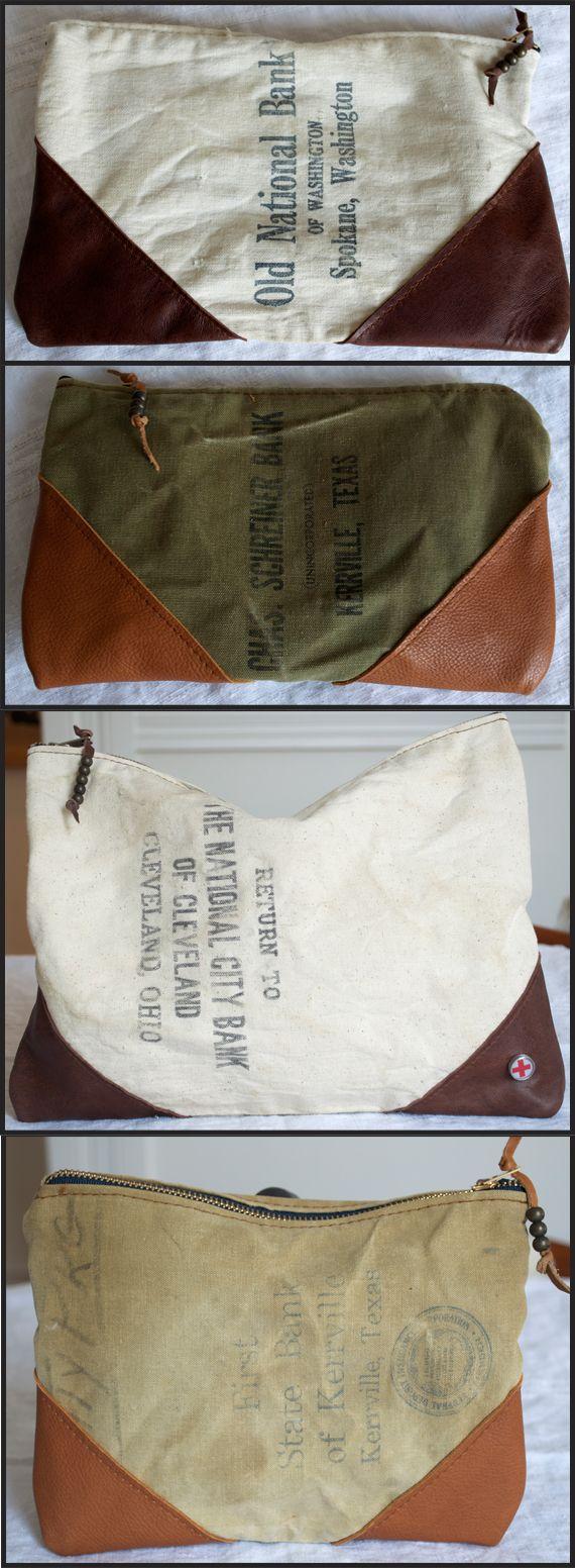 Bank Bag 2 With Images Bag Accessories Diy Linen Bag Bag Accessories